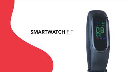 Smartwatch Fit para Brinde