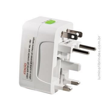 Adaptador TRAVEL WHITE