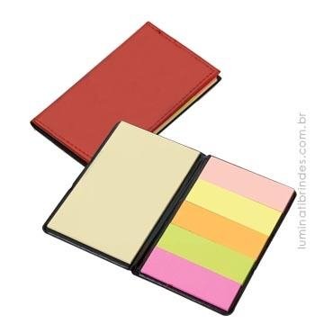Bloco Post-it Leather
