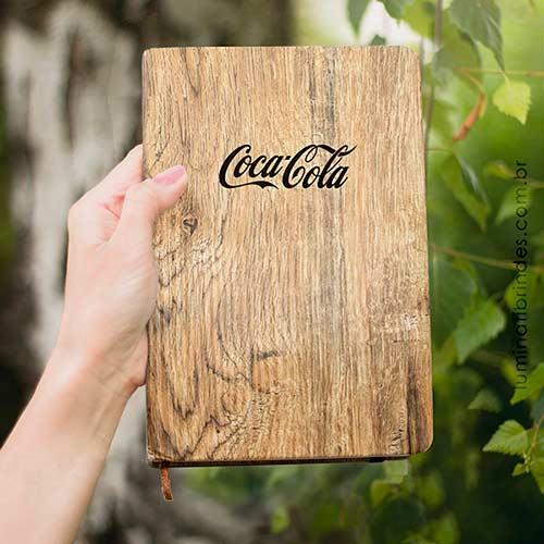 Caderno Wood Ecológico