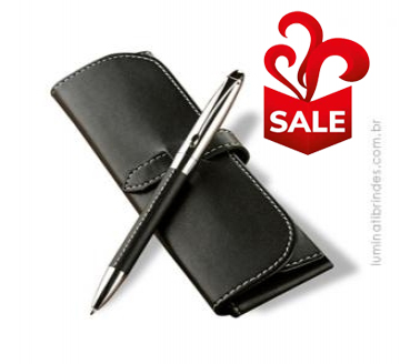 Caneta LEATHER PEN