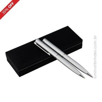 Conjunto caneta e lapiseira Denmark