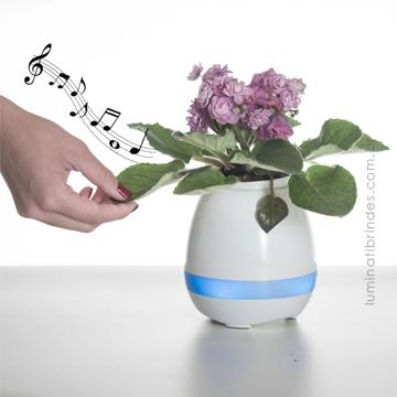 Flowerpot- Vaso de Plantas Speaker Bluetooth Musical