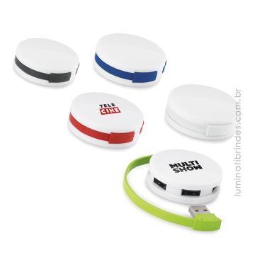 Hub USB Round