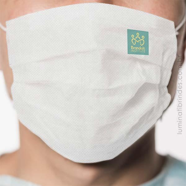 Nova Máscara para Rosto Personalizada TNT